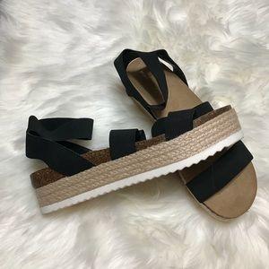 Madden Girl Kimmie Espadrille Sandals - Size 12